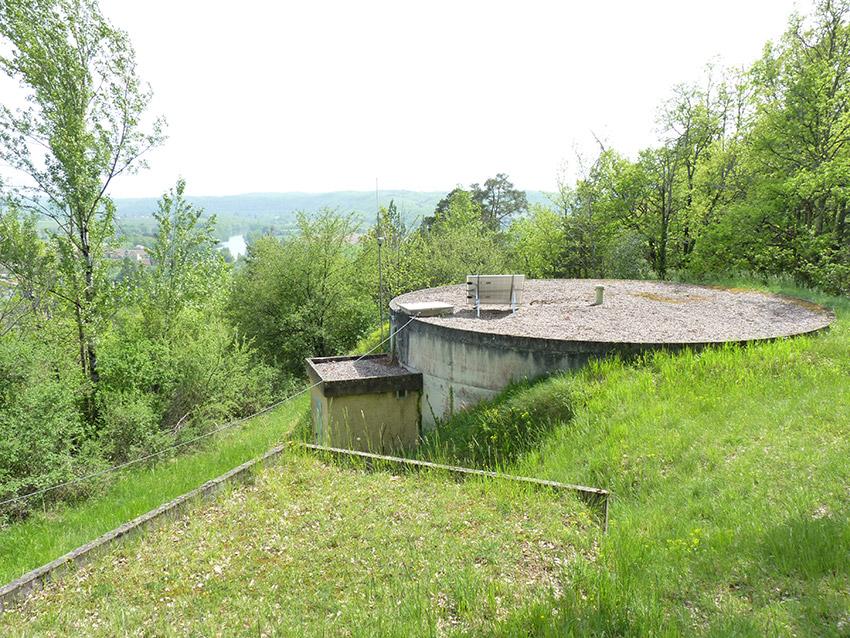 Réservoir d'eau potable à Calvayrac