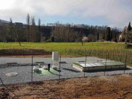 L'assainissement de Camy à Luzech